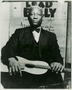 Lead Belly, in the 1940s