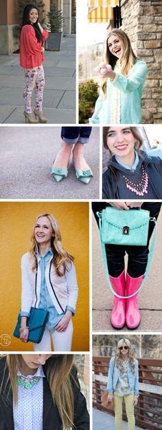 Utah Bloggers in Pastels | Aubry for FashionUtah.com