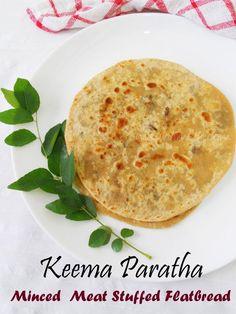 Keema Paratha / Minced Meat Stuffed Flatbread | Cooking Is Easy