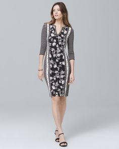 Reversible Knit Shift Dress