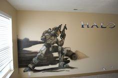 Xbox Halo Bed Sheets