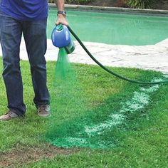 Grass grows where you spray it with Hydro Mousse Liquid Lawn! Grass grows where you spray it with Hy Green Lawn, Green Grass, Garden Hose, Lawn And Garden, Garden Art, Garden Tools, Balcony Garden, Herb Garden, Pergola Diy