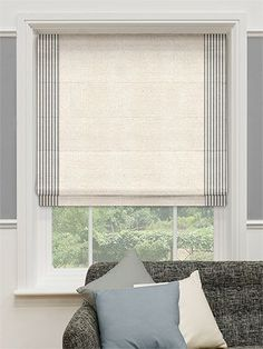 Seaboard Porchester Roman Blind from Blinds 2go