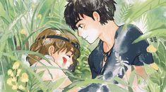 Image in Studio ghibli collection by kathryn albert Hayao Miyazaki, Studio Ghibli Films, Art Studio Ghibli, Pretty Art, Cute Art, Couples Anime, Films Cinema, Girls Anime, Manga Girl
