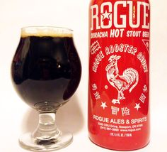 Rogue Sriracha Hot Stout Beer Malted Barley Thirsty Thursday Alcohol Recipes Beers Of