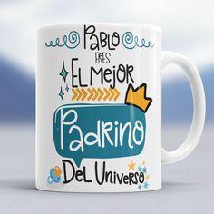 Si tienes al #mejor #padrino del #universo regalale esta #taza #mug #desayuno . Muchos modelos Originales en la Web [Enlace en la BIO]