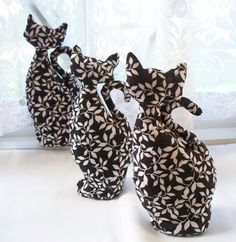 Halloween Black and White Cat  Black Cat in the by WhisperingOak, $9.95