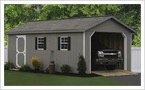 Large One Car Garage Ideas, single car garage door, single garage door width ~ Prefabricated Sheds, Industrial Sheds, Farm Shed, Building Costs, Outdoor Structures, Doors, Garage Ideas, Car Garage, Commercial