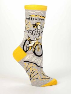 I'll be buying a pair of these for myself. Blue Q Socks | www.blueq.com