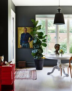 The fab Melbourne home of Fiona Richardson and family.