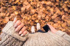 my DYI autumn nails <3 photo by Błażej Michalczyk - IG blazejpoland