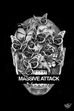 FANTASMAGORIK® MASSIVE ATTACK by obery nicolas, via Behance