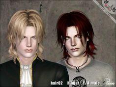 Sims 3 Male & Female Hair: Ginko H'hgar Hair Custom Content Download