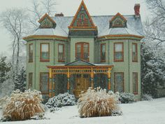 """this house has """"wes anderson"""" written all over it."""