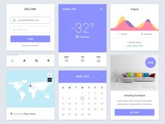 Here's a little UI kit containing some cool widgets for you guys. Enjoy this awesome freebie.