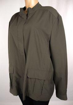 TILLEY ENDURABLES Different Drummer Jacket Plus Size 20 2X Khaki #TilleyEndurables #BasicJacket