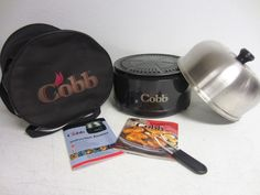 COBB+PORTABLE+GRILL+BAR-B-Q+BBQ+COOKER+SMOKER+ROASTER+CHARCOAL+STOVE+W/+BAG+#COBB