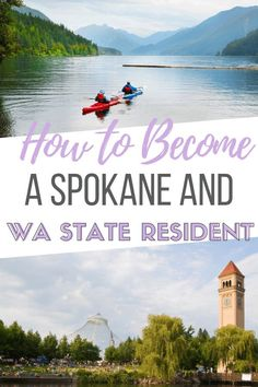 Just moved to Spokane and need to get your driver's license? Here's how to get your Spokane driver's license and become a Washington state resident. Moving To Washington State, Spokane Washington, Evergreen State, Family Vacation Destinations, Amazing Adventures, Places Around The World, Pacific Northwest, Travel Around, Day Trips