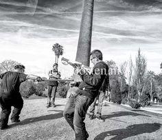Barcelona Parc de la Ciutadella fotografie black and white street photography Star Wars