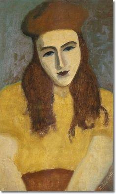 Milton Avery - Sally, 1930