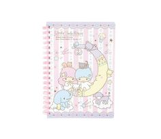 Little Twin Stars Spiral Notebook: Animals Collection