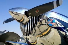 Chrome Plane by alvaromelo, via Flickr