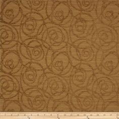 Refresh and modernize an old piece of furniture and update it with a new look. This heavyweight upholstery fabric has a soft touch and slight chenille, it is appropriate for accent pillows, upholstering furniture, headboards and ottomans.