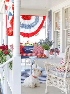 Memorial Day, The Fourth of July, and Labor Day are just the beginning when it comes to holidays that you need patriotic inspiration for! Get ideas for patriotic home decor, table settings and more. Independance Day, 4th Of July Decorations, Holiday Decorations, Holiday Ideas, Outdoor Decorations, Seasonal Decor, Outdoor Ideas, Holiday Fun, Family Holiday