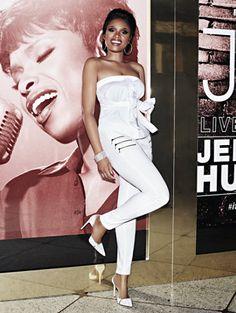Jennifer Hudson - Zip-accent Curvy Legging
