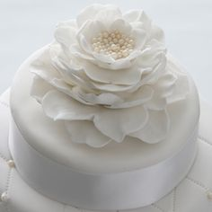 How to make a large flower cake topper.