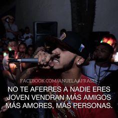 Anuel Aa Quotes, Freestyle Rap, Spanish Quotes, Carpe Diem, Words, Instagram Posts, Pictures, Sad, Reyes