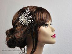 Brautschmuck haare  brautschmuck-kette-silber-perlen | Brautschmuck | Pinterest ...