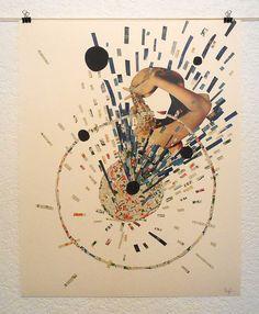 Collage by Sebastian Ospina, via Behance