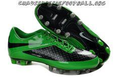 on sale c58ed 26cf4 Noir Vert Nike HyperVenom Phatal FG TPU Chaussures de football Mens Soccer  Cleats, Adidas Soccer