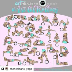 #Repost @sheriesloane_yoga with @repostapp Few more days before we start! So excited to be partnering up with my dear friends @aleksic_twins of @arthleticwear and @wavyogawheel for the #ARTOFROLLING #yogawheel challenge from August 2-28! . Do you have a yoga wheel or been wanting to try one and would like to learn the different ways you can use it in your yoga practice and how it can help you? Come and join us in learning exploring and practicing some of the ways you can use the yoga…