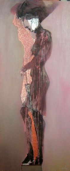 La sombra de la duda 35 cm x 80 cm Óleo-Lienzo 2012 1.500€  #arte #art #artecubano #cubanart #galerías #galleries #pintura #painting #EdelBordon