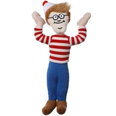 Shop for Multipet International 'Where's Waldo' Pet Toy. Get free delivery On EVERYTHING* Overstock - Your Online Dog Supplies Store! Shiloh Dog, Mustache Dog, Toy Dog Breeds, Wheres Waldo, Designer Dog Clothes, Dog Boutique, Toy Puppies, Dog Activities, Boy Dog