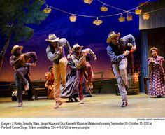 Oklahoma musical sets and costumes