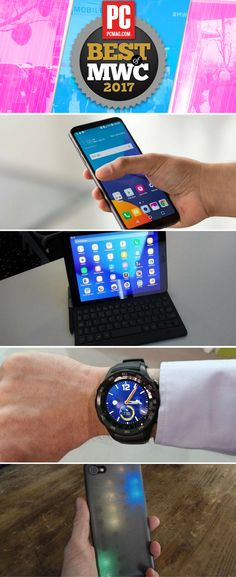 Countless new gadgets and technologies were introduced at Mobile World Congress this year. These are our favorites. Mobile World Congress, Inspector Gadget, New Gadgets, Technology Gadgets, Smart Watch, How To Find Out, Good Things, Electronics, News