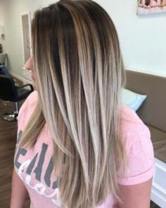 Balayage High Lights To Copy Today - The V Effect - Simple, Cute, And Easy Ideas For Blonde Highlights, Dark Brown Hair, Curles, Waves, Brunettes, Natural Looks And Ombre Cuts. These Haircuts Can Be Done DIY Or At Salons. Don't Miss These Hairstyles! - https://www.thegoddess.com/balayage-high-lights-to-copy