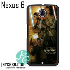Star Wars Force Awakens Poster Phone case for Nexus 4/5/6