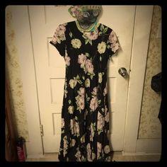 Floral Maxi Dress EUC Rafaella Dresses Maxi