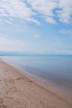 Pinery Provincial Park. The beach