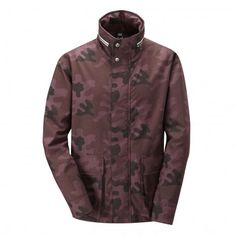 Gloverall Men's Camo Concealed Hood Jacket STYLE MS5056-CAM