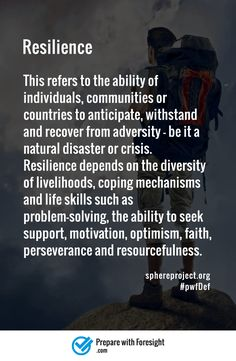 #pwfDef #resilience #survival