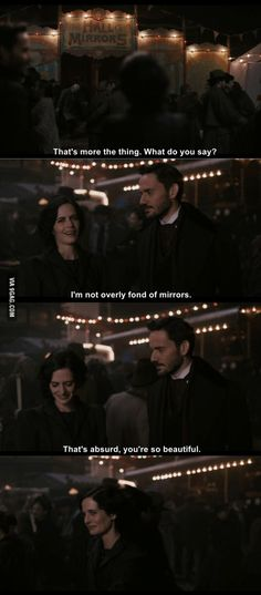 Smooth and simple (Penny Dreadful)