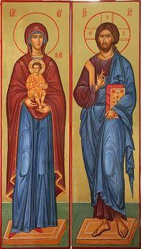 Спаситель и Богородица
