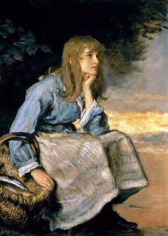 "John Everett Millais (British, 1829-1896), ""Caller Herrin'"""