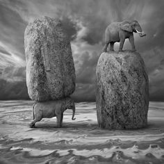 Mysterious B&W Compositions Make For Fine Art by Dariusz Klimczak