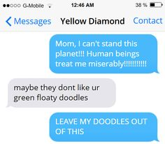 Peridot is very sensitive about her doodles